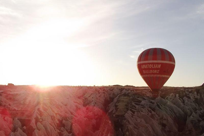 hot air balloon kapadokya