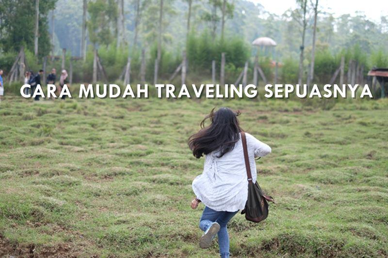 cara traveling hemat