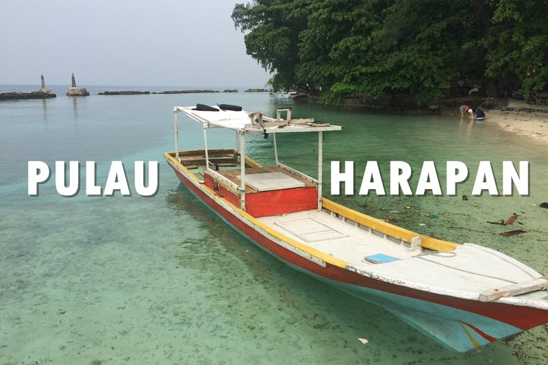 pulau harapan ala backpacker