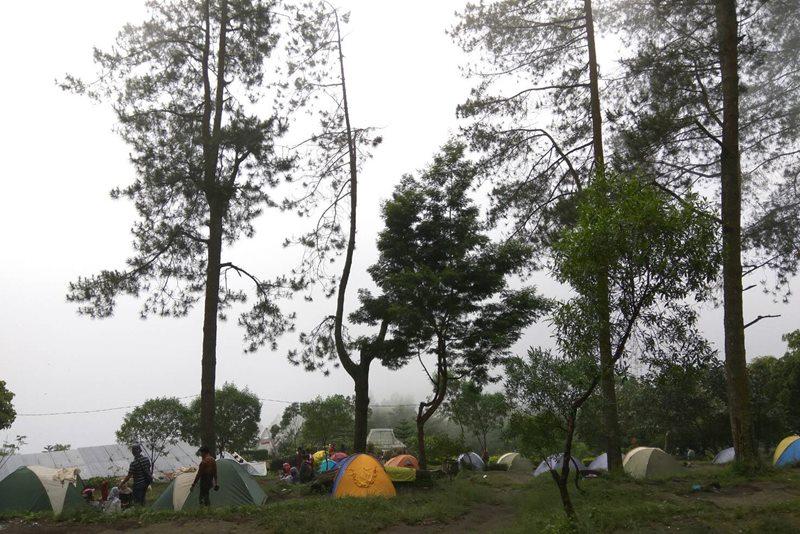 tempat camp keluarga