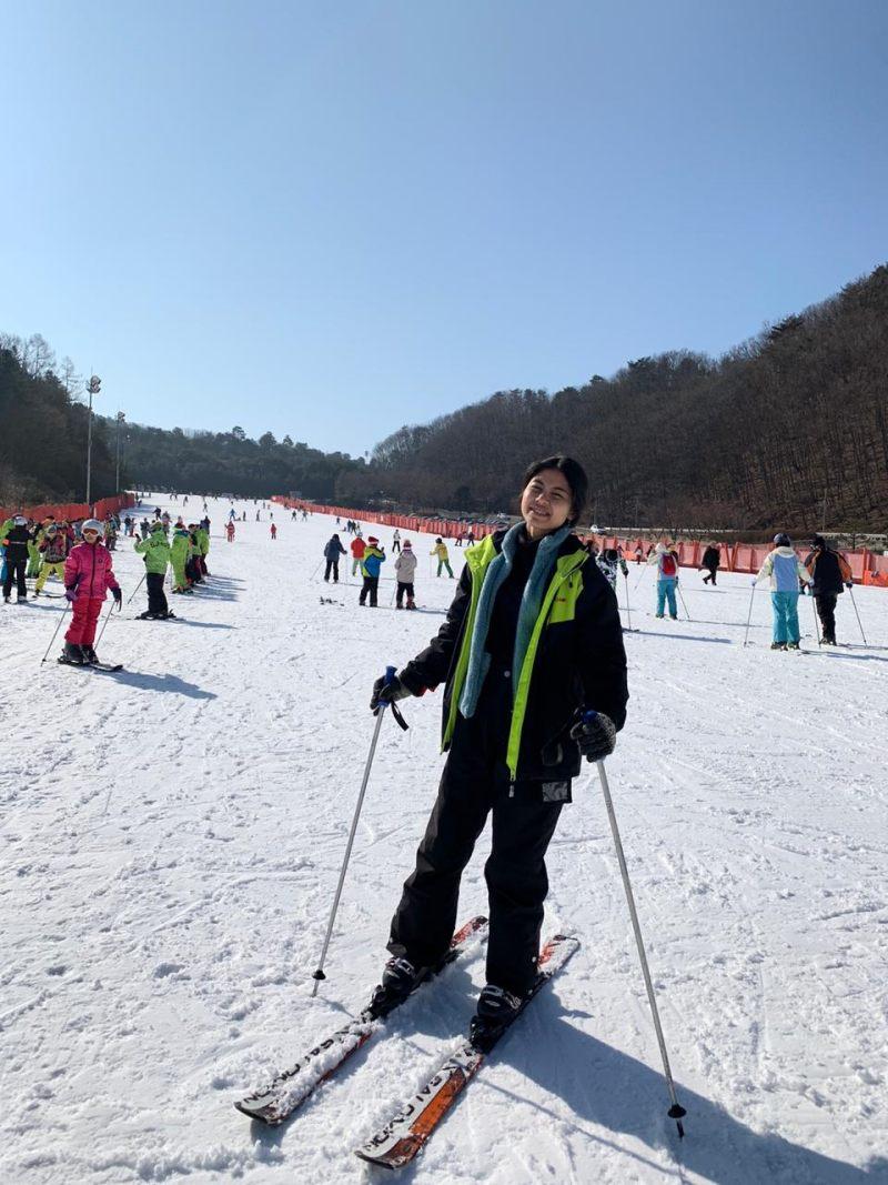 ski di vivaldi park korea selatan